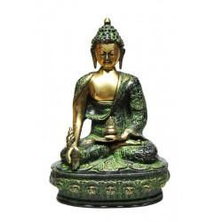 Statue Buddha Varada Mudra Bronze Compassion