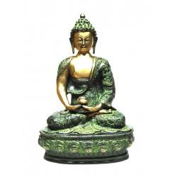 Bronze Statue Buddha Dhyana Mudra
