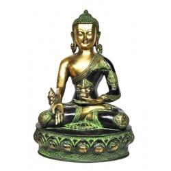 Statue Buddha Varada Mudra Bronze Divinity