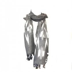 Scar scarf Ikat Black Cheich Turban