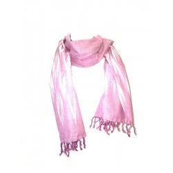 Scar scarf Ikat Mauve Violet Cheich