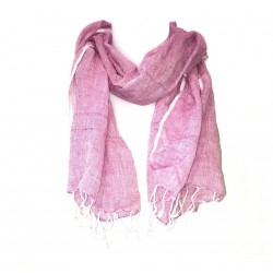 Scarf Scarr Violet Fin Cotton India