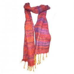Himalayan purple scarf Hot Scarf Nepal India