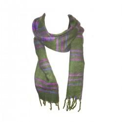 Himalayan scarf Hot Green Scarf Nepal India