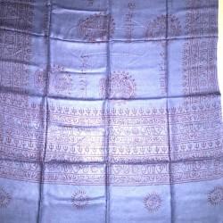 Om Blue Ram Ram Buddhist Scarf Scarf