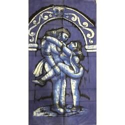 Batik Tenture Kama Sutra Blue Sex Love