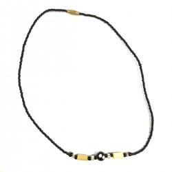 Africa Ethnic Pearls Necklace Burkina Bijou