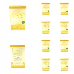 Lot Henné Babysed Hair Coloring Natural Color