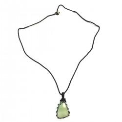 Jade Harmony Courage Pendant Necklace