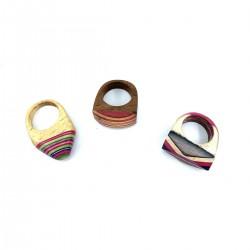 India Ethnic India Craft Wood Ring