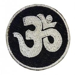 Patch Nepal Ohm Embroidery Embroidery Kathmandu Aum Fabric