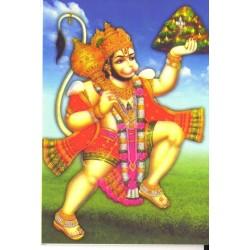 Postcard Lord Hanuman God Divinity India