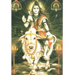 Postcard Shiva Third Eye God