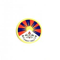 Free Tibet India Sticker