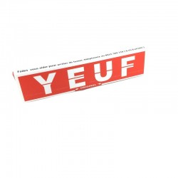 Yeuf Slim Paper Rolling Cigarettes Natural Card