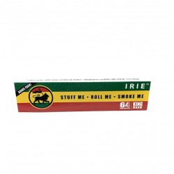 Leaves IRIE Rasta King Size Paper Roll Cigarettes
