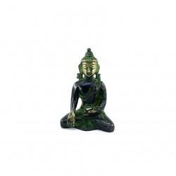 Statuette Buddha Bronze Bhunmisparàa Mudr