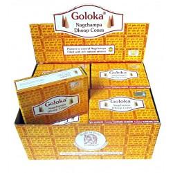 Incense Cones Goloka Nag Champa Natural Masala