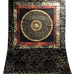 Thangka Tangka Yin Yang Well Bad Image Mandala