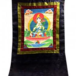 Thangka Tangka Tara Tibet Tibetain Painting Image
