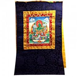 Thangka Tangka Tara Verte Green Tibet Tibetain