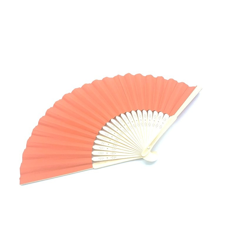 Bamboo and orange paper.