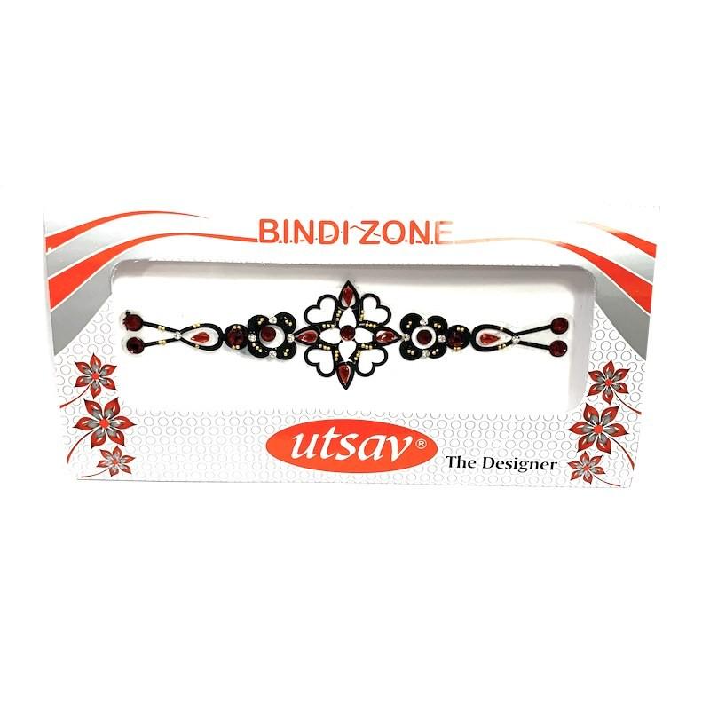 Bindi to stick to the skin like a jewel.