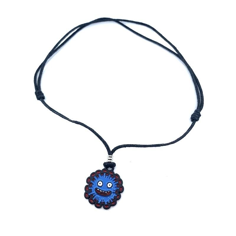 Pendant necklace virus I Will Survive