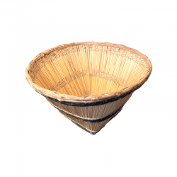 Bobo Natural Straw Basket
