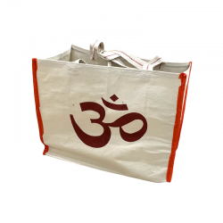 Tote bag representing the Om or Aum