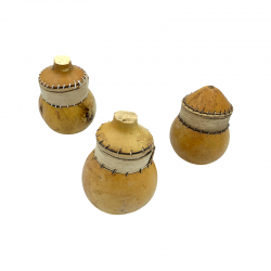 Lot of 3 Calabash Boxes