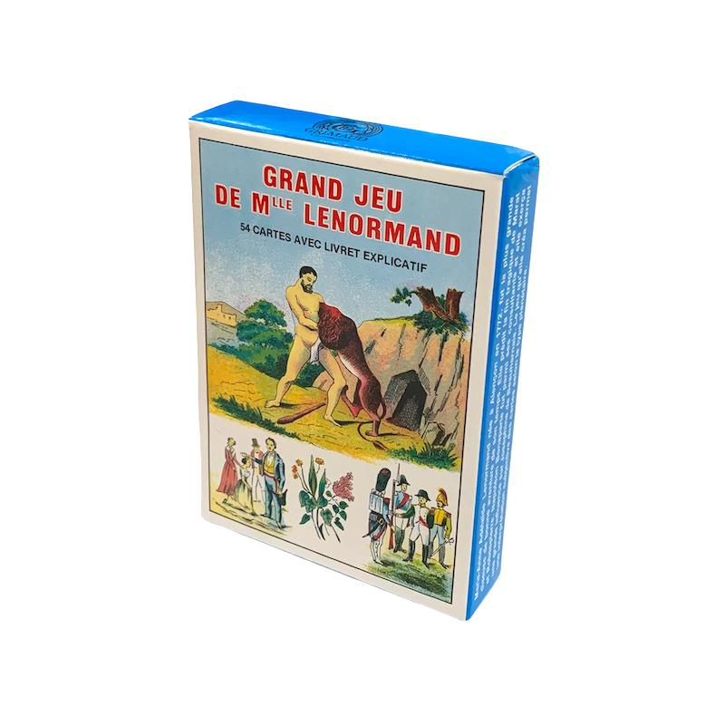 Big favorite card game Mademoiselle Lenormand