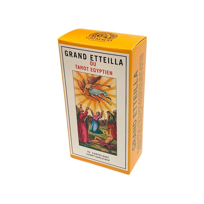 Grand Etteilla Egyptian Tarot card game