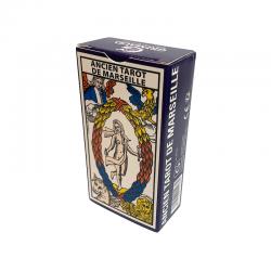 Antiguo juego de cartas Tarot de Marseille