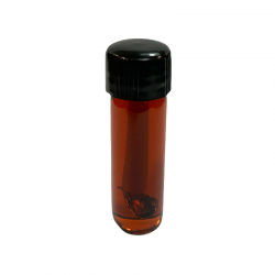 Bottle of pure Indian patchouli perfume.