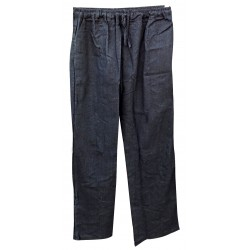 Lin Cotton Pants Men's Yoga Meditation Black Zen