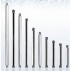 Piercing Bar Surgical Steel Skin Percer 1.6 Language