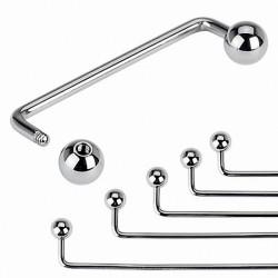 Piercing Industrial Steel Barre 1.6 mm Skin Jewelry Agraphe