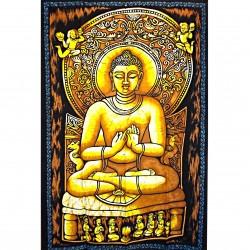 Tenture Batik Buddha Indian God India Image Divinity Asia
