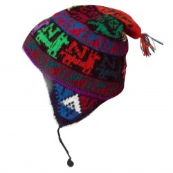 Child Cap Peru Winters Colorful Wool Hat