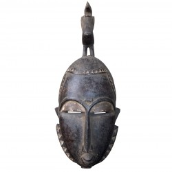 Yohouré Mask Wood Collection Art First African Africa