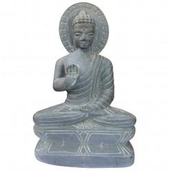 Statue Sculpture Buddha Stone Sandstone India Meditation Unique Buddhism