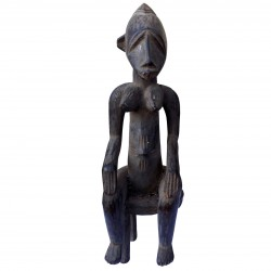 Statue Maternity Senoufo Bois Art Africa Collection