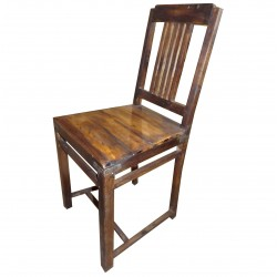 Chair Wood Recycled Seat Wood Furniture Furniture