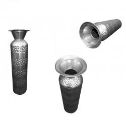 Giant Metal Vase Pot Iron Large Metallic Top