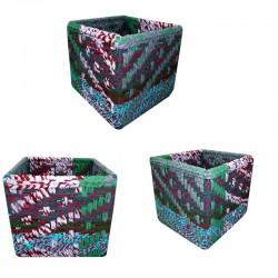 Cache Pot Empty Pocket Tissue Recovery Cube Box