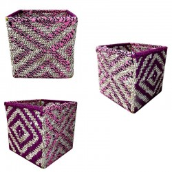 Cache Pot Empty Pocket Cube Fabric Recycling Recuperation