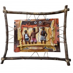 Table Bas Relief Africa Contemporary Art African Nature