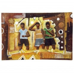 Table Bas Relief Africa African Contemporary Art