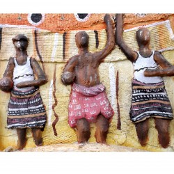 Table Bas Relief Africa Women's Contemporary Modern Art